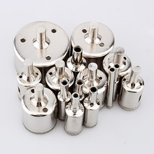 Domestic service 15pcs/set Diamond 6-50mm Hole Saw Tile Ceramic Glass Porcelain Marble Drill Bit Fast Delivery