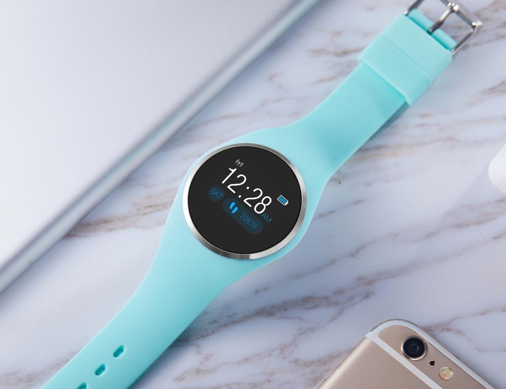 CYUC Q1 Smart Wristband Color LCD Screen Blood Pressure Heart Rate Monitor smart band Fitness Tracker Smart Bracelet ladies 16