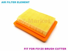 10PCS Air Filter for STIHL FS120 FS200 250 Brush Cutter.Grass Trimmer.Lawn Mower.Tiller.Gasoline Engine Garden Tools Spare Parts