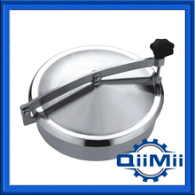 "450mm Manhole cover 18"" sanitary stainless steel SS304 SS316L(China)"