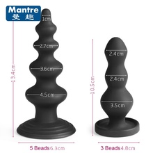 Fancy 2 Style Beads Dildo Butt Plugs Adult Anal Plug Erotic Sex Toys For Men Women Gay Backyard Vaginal Pussy Insert Massager(China)