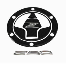 Buy KODASKIN Real Carbon Fiber Tank Gas Cap Pad Filler Cover Sticker Decals Fit KAWASAKI Z250 NINJA250 for $16.90 in AliExpress store