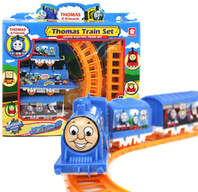 Thomas the Train & Friends Mini Motorized Battery Train Track Orbital Electric Train Rail Car Baby Children Toy Gift(China)