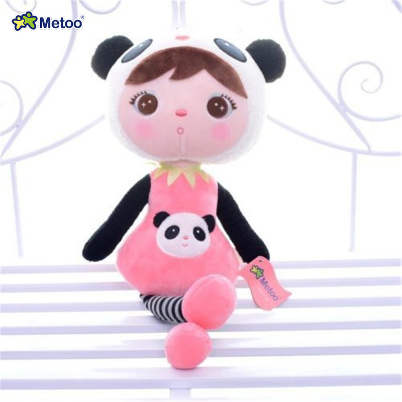 New Arrival Original Metoo Plush Dolls Pink Panda Plush Kids Baby Lucky  Dolls Toy 16 Stuffed Toys for Girls Gifts <br><br>Aliexpress