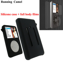 Running Camel Silicone Skin Case Cover for Apple iPod Classic 80GB 120GB New Classic 160G 3rd + Full Body Protective Film
