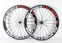 25mm width 50mm carbon wheels Clincher/Tubular Full Carbon clincher wheelset 50mm 700C SODOSIN carbon Road bike Wheel