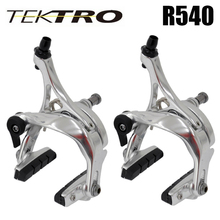 TEKTRO R540 164 g/Pair Lightweight C Brake Clamp Caliper Quick Release Linear Pull Brake System Forged Aluminum for Shimano 105