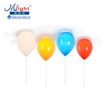 6 Colors Balloon Ceiling Lamp Novelty Holiday Nursery Bedroom Decorative Lighting Light
