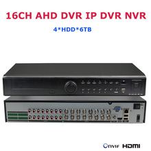 Buy 16CH 1080P AHD DVR IP DVR Recorder Network 4*HDD CCTV Security Surveillance IP Video Recorder NVR 3MP 5MP HVR AVR P2P ONVIF DVR for $396.00 in AliExpress store