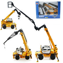 Alloy engineering vehicle multi function crane simulation children's toy model 1:50 christmas and new year kid gift(China)