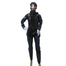 2017 Persona 5 Queen Makoto Niijima Cosplay Costume Battle Clothing Full Set With Mask, Scarf, Glove, Shoes Cover