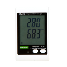 Portable LCD Digital Temperature Meter Humidity Meter Data Recording Logger Thermometer Hygrometer USB Cable PC Connecting