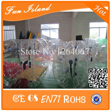 Free Shipping 6 pcs Balls +1 Blower Zorb Ball,Bubble Football ,Inflatable Body Bumper Ball,Loopyball
