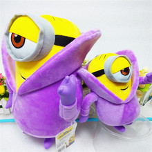 Movie Cartoon Despicable Me Plush Toys Purple Vampire Dolls Baby Kids Friends Doll Gift 20/33cm
