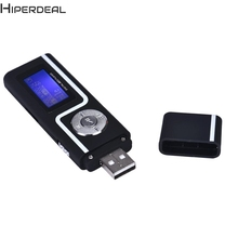 HIPERDEAL Factory Price New arrival Portable USB MP3 Music Player Digital LCD Screen Support 16GB TF Card mp3 player SEP13 #