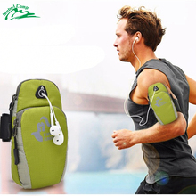 outside sport mobile phone armband bag wrist bag running arms package handbags coin purse 5.5inch