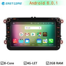 4G Android 6.0.1 Octa Core 2GB RAM Car DVD for VW Passat CC Polo GOLF 5 6 Touran EOS T5 Sharan Jetta Tiguan GPS Radio Seat Altea(China)