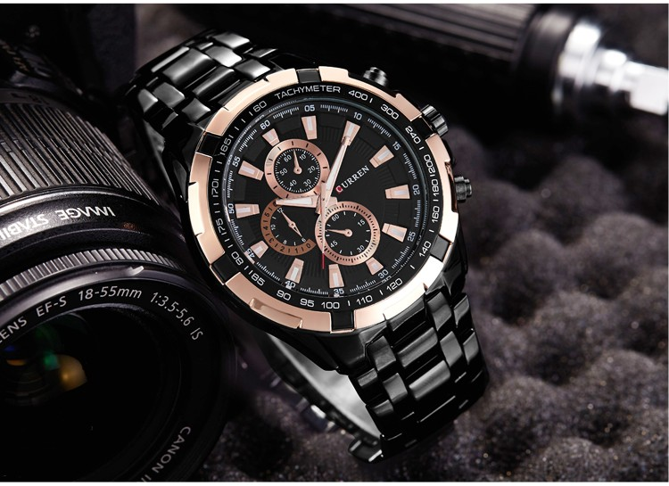 CURREN Watches Men Luxury Brand Army Military Men Watches Clock Male Quartz Watch Relogio Masculino Horloges Mannens Saat