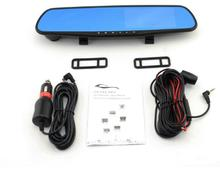 4 inch HD LCD Car Mirror Camera HD Vehicle DVR Cam Recorder Dashboard