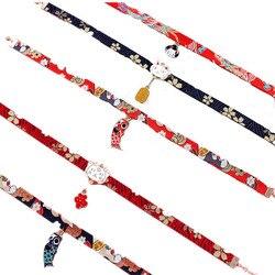 Женское ожерелье-чокер на ленте с подвеской