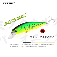 Buy WALK FISH Professional Minnow Hard Fishing Lures Bait 5color 11cm 14g Minnow depth0.8-1.5m Swim Bait for $2.89 in AliExpress store