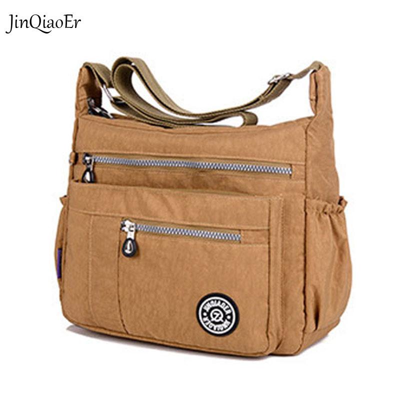 JINQIAOER New Women Messenger Bags for Women Waterproof Nylon Handbag Female Shoulder Bag Ladies Crossbody Bags<br><br>Aliexpress