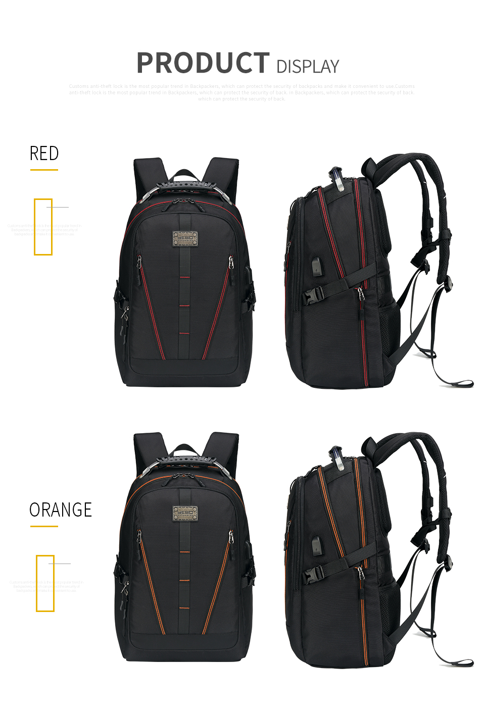 6Men Backpack