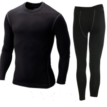 Free Shipping Men And Women Thermal Underwear Set Hot-Dry Technology Surface Warm Elastic Force