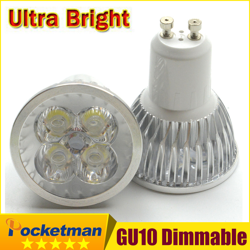 1pcs Super Bright 15W 12W 9W GU10 LED Bulbs Light 110V 220V Dimmable Led Spotlights Warm/Cool White GU 10 base LED downlight(China)