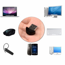 2017 New Mini Dual Mode Dongle USB Bluetooth Dongle Adapter Transfer Free Driver USB 2.0 Transmitter for Computer PC Laptop
