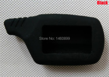 Silicone Key Case with LOGO,  for Two Way Alarm LCD Remote Controller Key Fob Chain Starline B9 Starline B6/A91 B91/B61/A61/V7