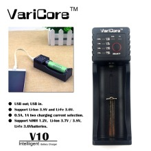 New VariCore V10 AA AAA SC/S 18650 26650 18350 16340,14500,10440 26500 Lithium Iron 3.2V 1.2V 3.7V NiMH Battery Charger