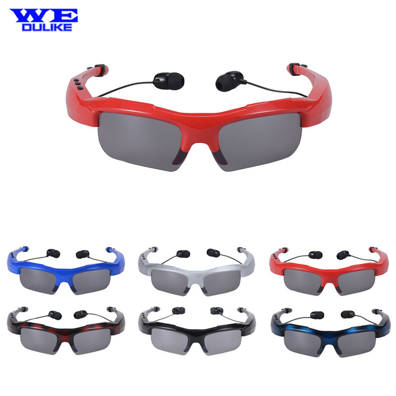 2017 Universal Stereo Sports Wireless Bluetooth Sunglasses Headset Handsfree for Huawei Cellphone Sport  Music Sunglass Earphone<br><br>Aliexpress