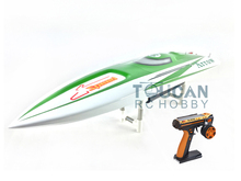 E36 RTR Sword Fiber Glass Racing Speed RC Boat W/1750kv Brushless Motor/120A ESC/Servo/Remote Control Boat Green