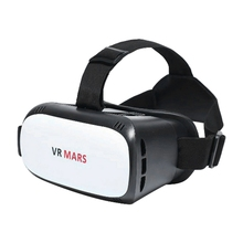 "Universal ABS VR01 3D VR Virtual Reality Headset 3D Glasses for 4.7""-6.0"" Smart Phone white(China)"