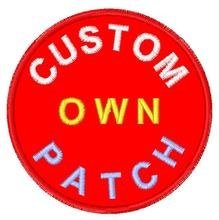 Custom Embroidery Own Patch for clothing iron on patch applique patches embroidered iron on patches