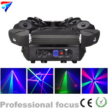 Free shipping LED Spider DMX RGB LED DMX Laser New Design 16CH Light For Club Disco Light Stage Light