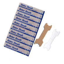 50pcs/pack Anti Snoring Better Breath Nasal Strips Sleep & Snoring Nasal Strips Health Care 55x16mm or 66x19mm