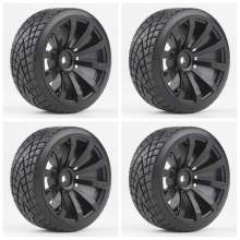 4 PCS RC Drifting Tire 1/10 Model RC car Tire Tyre&wheel /On-Road Drifting Racing