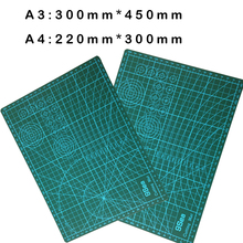 1 pcs A3 or A2 Pvc Rectangle Grid Lines Self Healing Cutting Mat Tool Fabric Leather Paper Craft DIY tools(China)