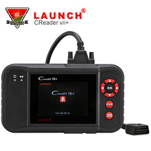 LAUNCH X431 Creader VII+ Creader 7 plus Auto Scanner Tool ABS,SRS,ENG Diagnostic tool Same as like Crp 123 Internet free Update(China)