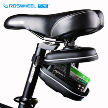 Roswheel Waterproof Mountain Road Bike Bag EVA Bycicle Bicycle Saddle Bag Small Box Cycling Rear Seat Tail Bag Bolsa Bicicleta(China)