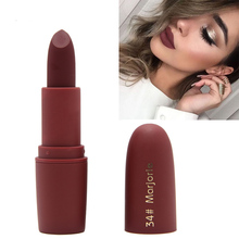 Miss Rose Brand Makeup Matte Lipstick Beauty  Moisturizing Lip Stick Waterproof Make up Mate Lipsticks Cosmetic