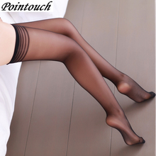Buy POINTOUCH Sexy Summer Thin Tights Breathable Stretchy Stockings High Elastic Prevent Hook Women Pantyhose Medias Girl Panty