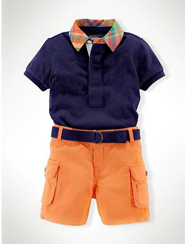 Retail 2015 Summer Children casual clothing sets baby boys short sleeve t shirt + orange shorts 2pcs set kids brand name shirt<br><br>Aliexpress