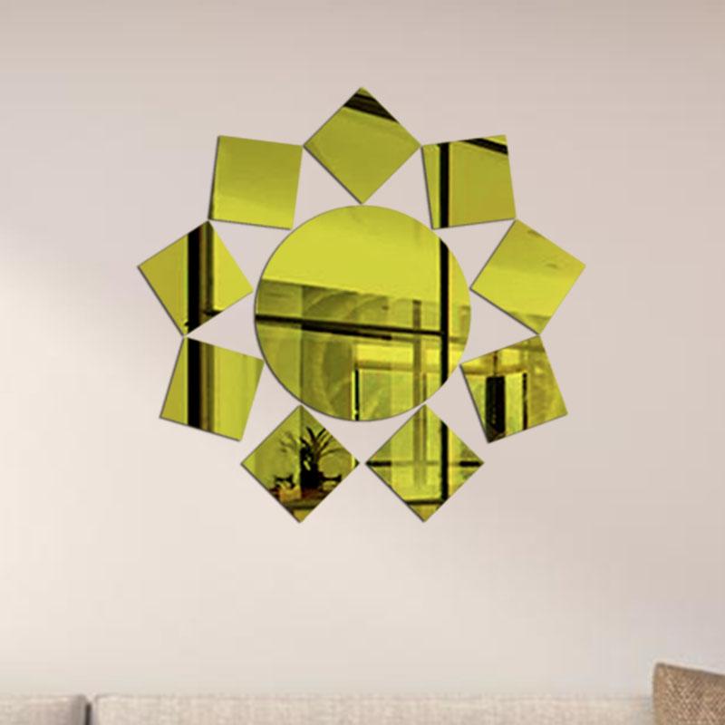 d etiqueta de la pared bao espejos decorativos azulejos espejo etiqueta de la pared para el dormitorio saln por