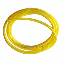 "200ft(61m) ID 3/32"" x OD 3/16"" Flexible Fuel Hose Petrol Fuel Gas Line Pipe For Strimmer Brushcutter(China)"