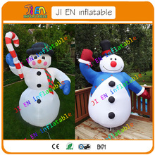 Free shipping whole sale inflatable snowman for christmas decoration / cheap inflatable snowman decoration