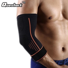 1 Pcs Arm Sleeve Elbow Support Basketball Breathable Safety Sports Weight Lifting Elbow Pad Brace Arm Warmers(China)