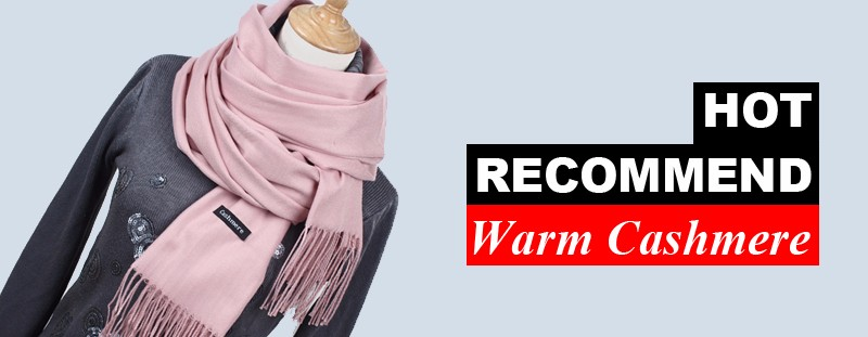 Women solid color cashmere scarves with tassel lady winter thick warm scarf high quality female shawl hot sale